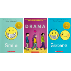 Smile, Drama, and Sisters.