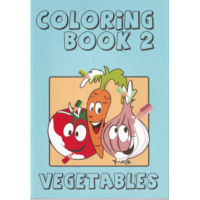 Coloring Book 2 Vegetables