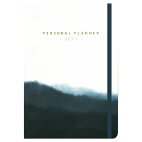 Limitless Blue Personal Planner 2021